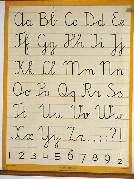 26个字母笔顺分享